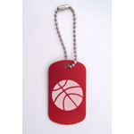 Basketball Bag Tags