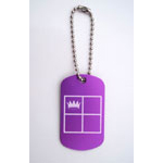 Four Square Bag Tags