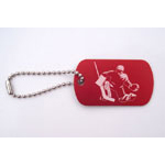Ice Hockey Bag Tags