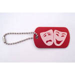 Theater Arts Bag Tags