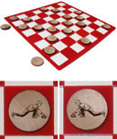 Curling Checkers Sets