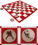 Ice Hockey Checkers Sets