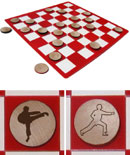 Martial Arts/Karate Checkers Sets