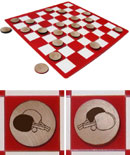 Table Tennis/Ping Pong Checkers Set