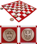 Theater Arts Checkers Sets