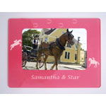 Horseback Riding Magnetic Photo Frames