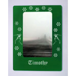 Skiing Magnetic Photo Frames