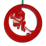 Ice Hockey Ornaments